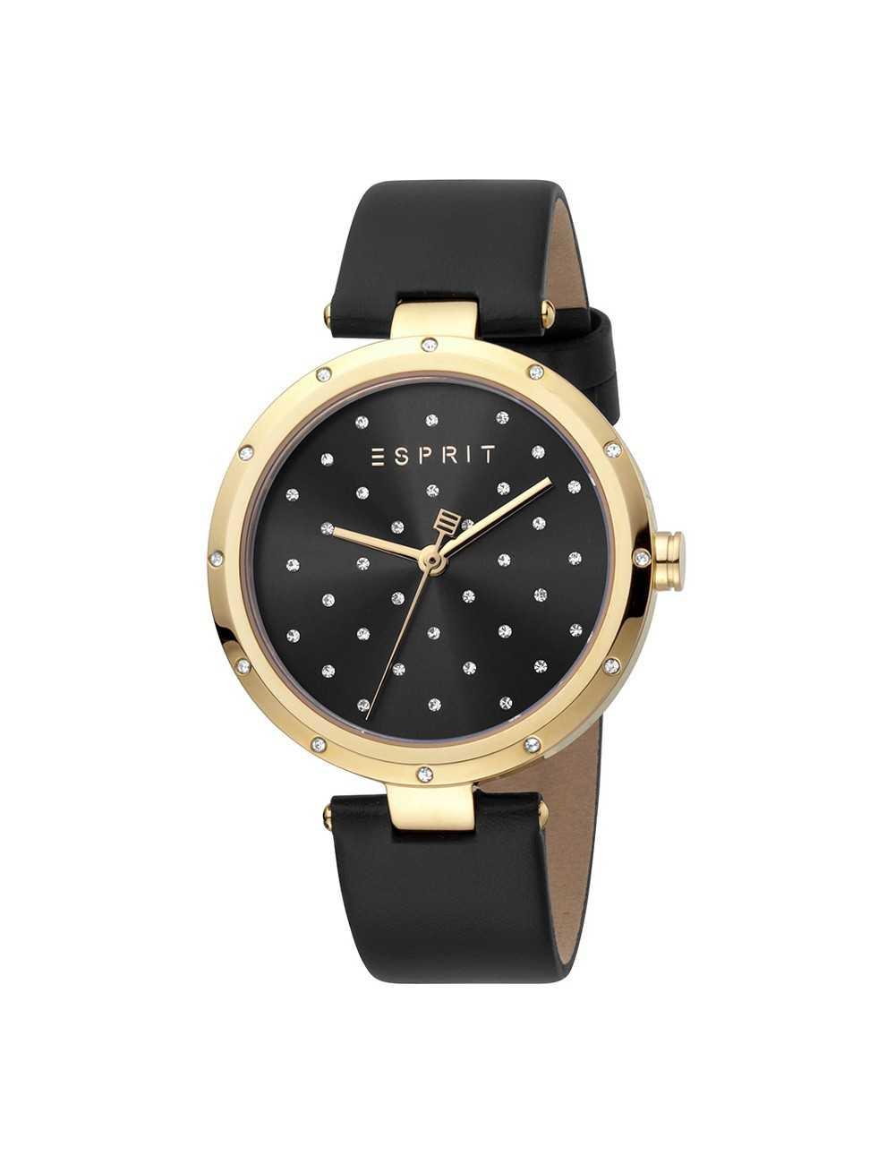 Dámske hodinky Esprit ES1L214L0025 Louise z čierneho zlata