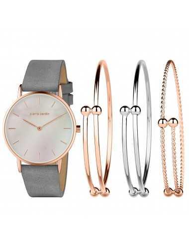 Pierre Cardin Gift Set Watch & Bracelet PCX7560L304