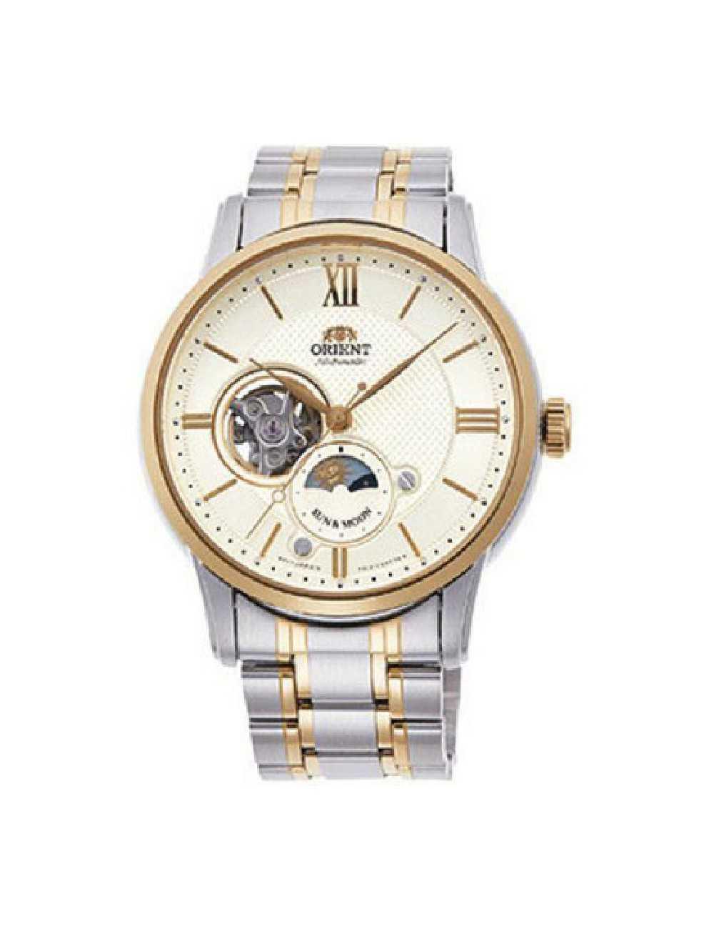 Pánske hodinky Orient Sun and Moon RA-AS0001S00B