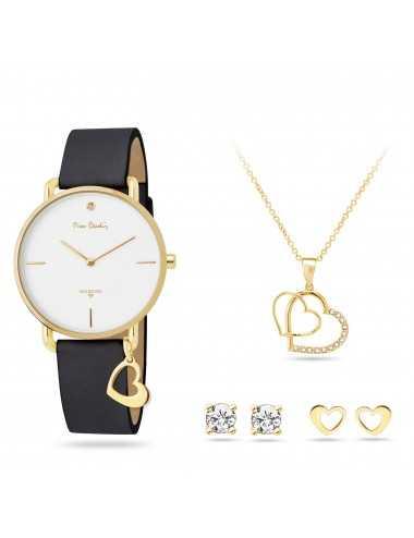 Darčeková sada Pierre Cardin Hodinky, náhrdelník a náušnice PCDX8464L23