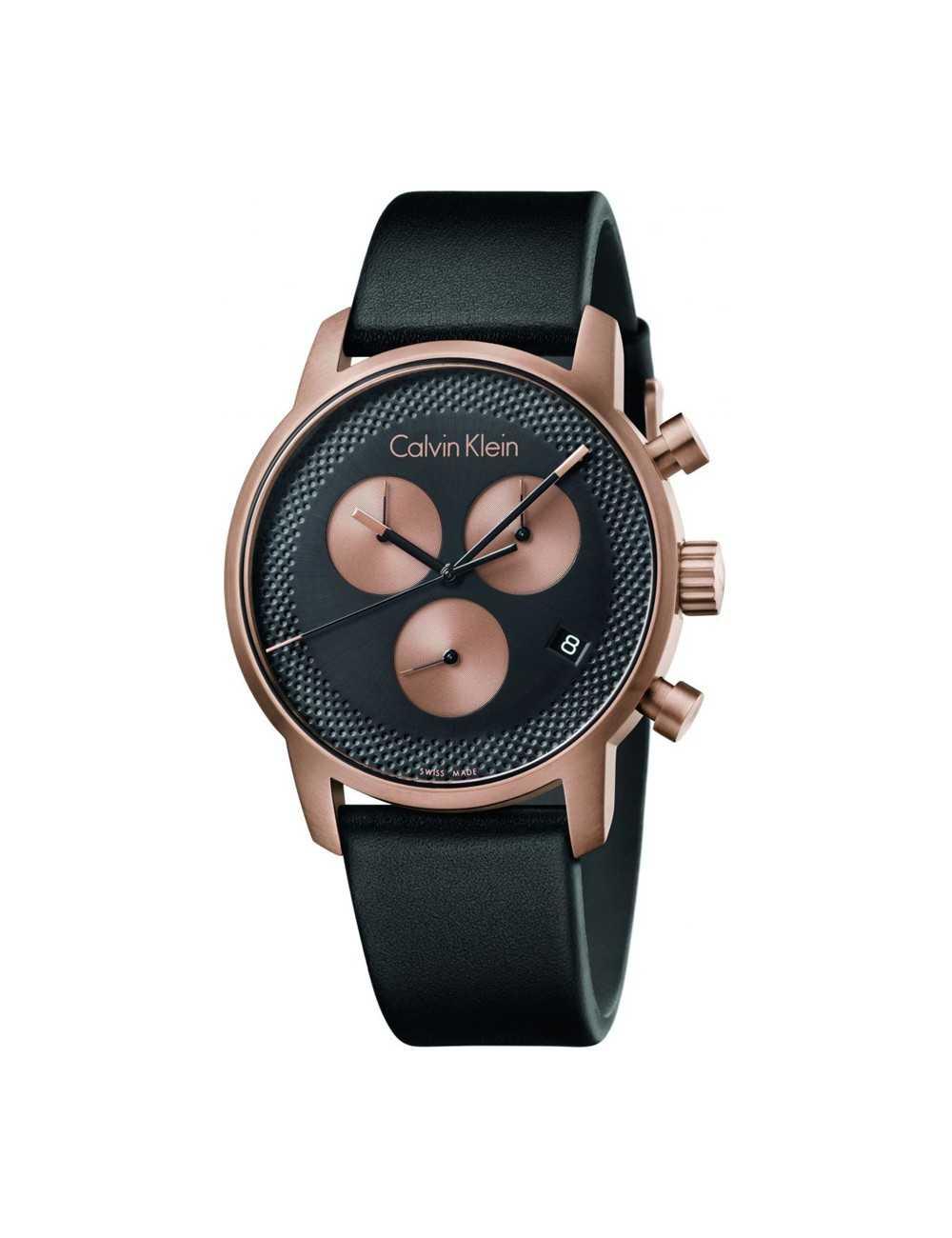 Pánske chronografy Calvin Klein City K2G17TC1