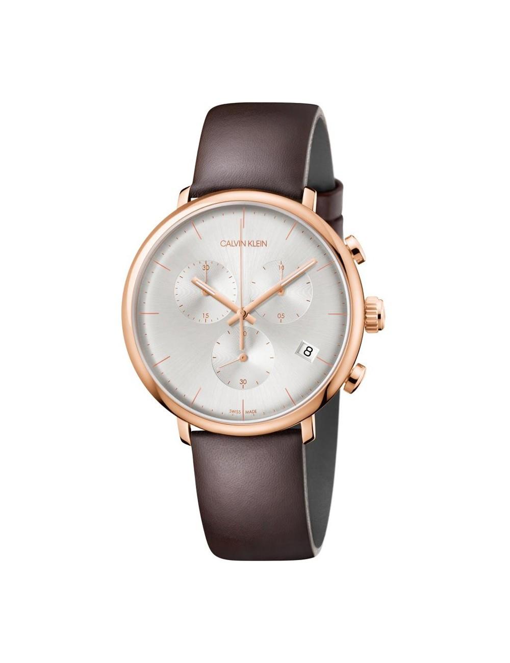 Pánske hodinky Chronograph Calvin Klein High Noon K8M276G6