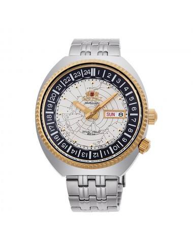 Orient World Map Revival Automatic RA-AA0E01S19B Mens Watch