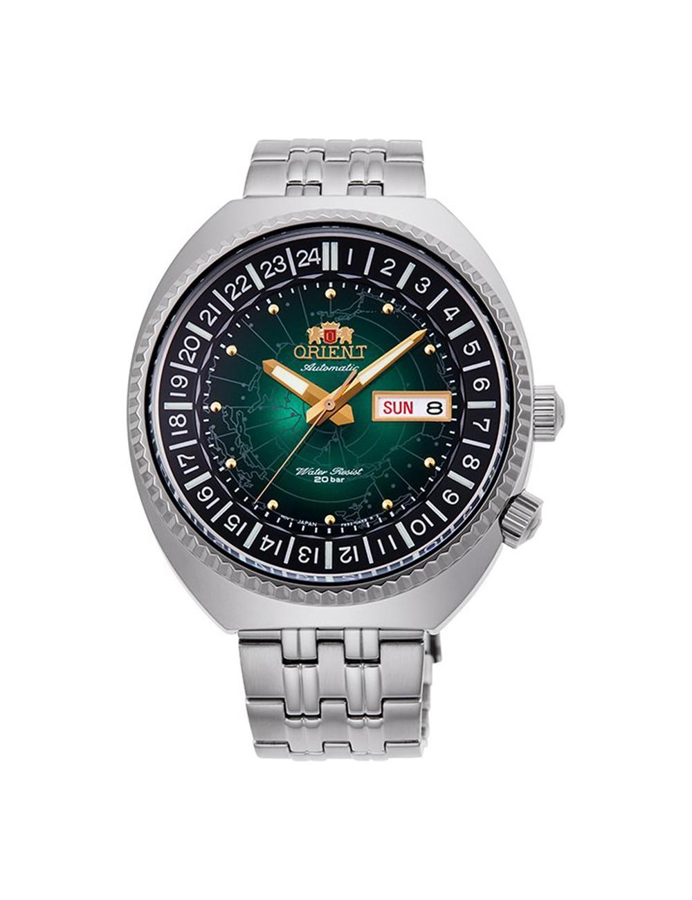 Orient World Map Revival Automatic RA-AA0E02E19B Mens Watch
