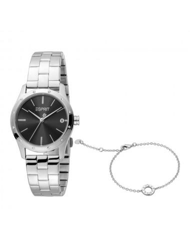 Esprit ES1L223M0065 Nava Black Silver MB Ladies Watch