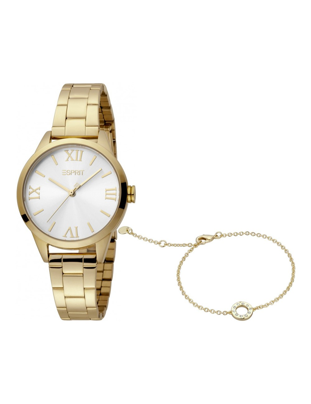 Esprit ES1L259M0065 Nova Silver Gold MB Ladies Watch