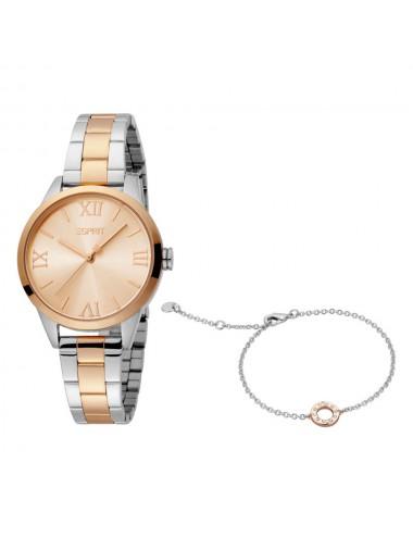 Esprit ES1L259M0095 Nova Rosegold Two Tone MB Ladies Watch