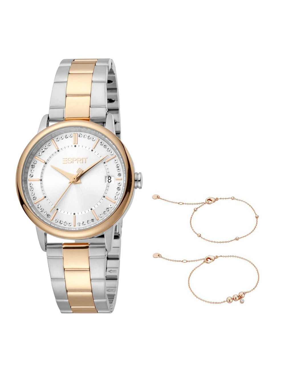 Esprit ES1L181M2095 Harper Silver Two Tone MB Ladies Watch