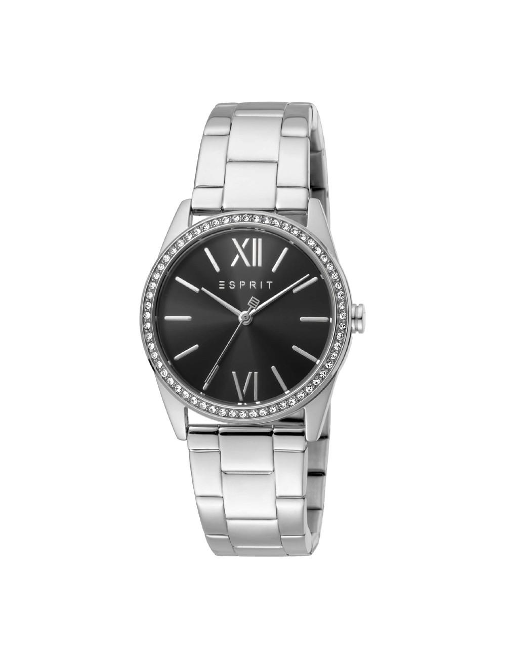 Esprit ES1L219L0055 Clara Black Silver Ladies Watch