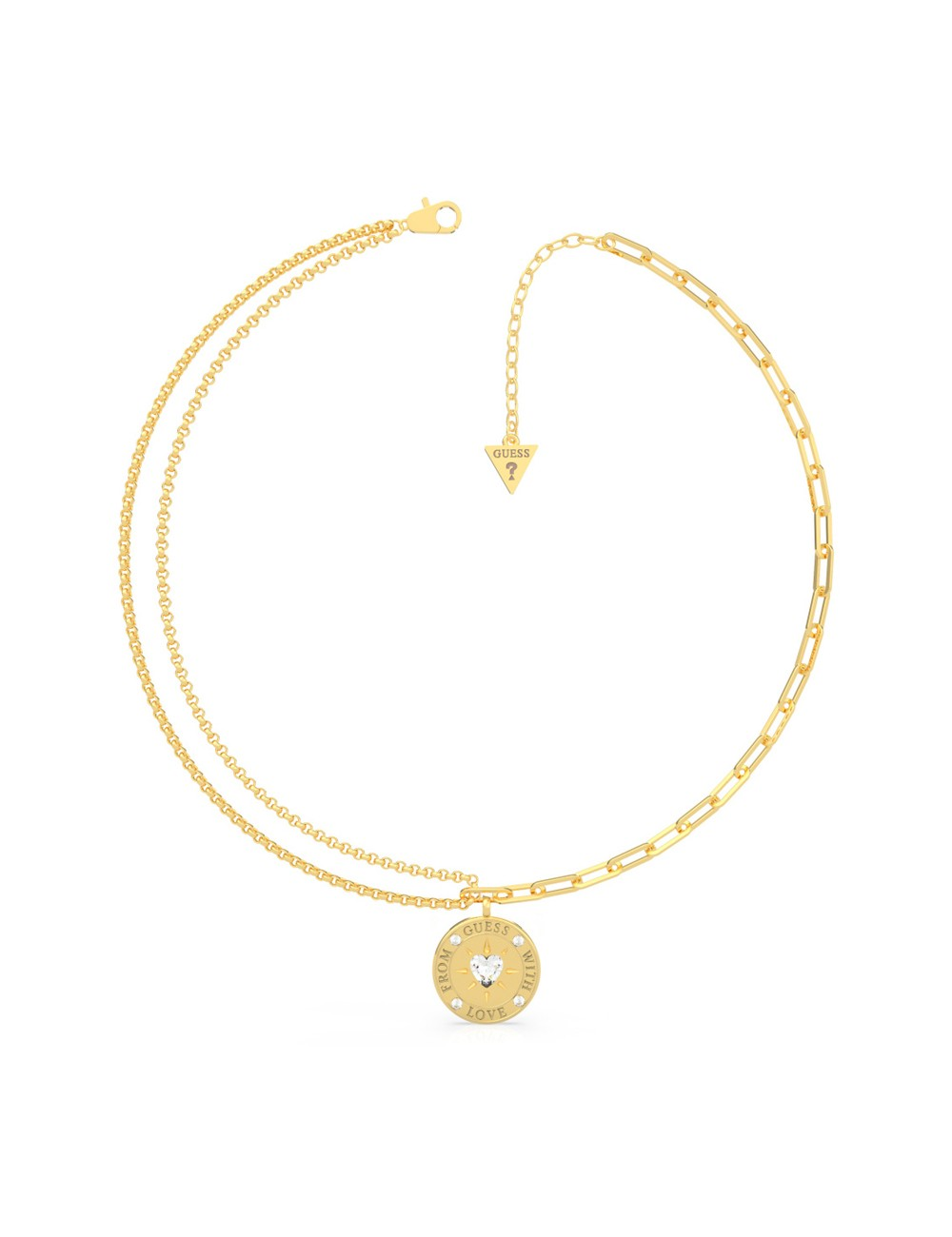 Guess Ladies Necklace UBN70001