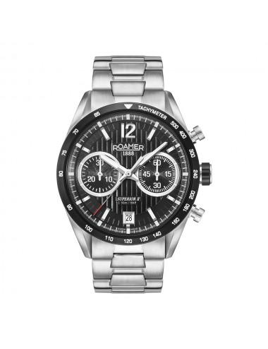 Roamer Superior II 510902415450 Mens Watch Chronograph