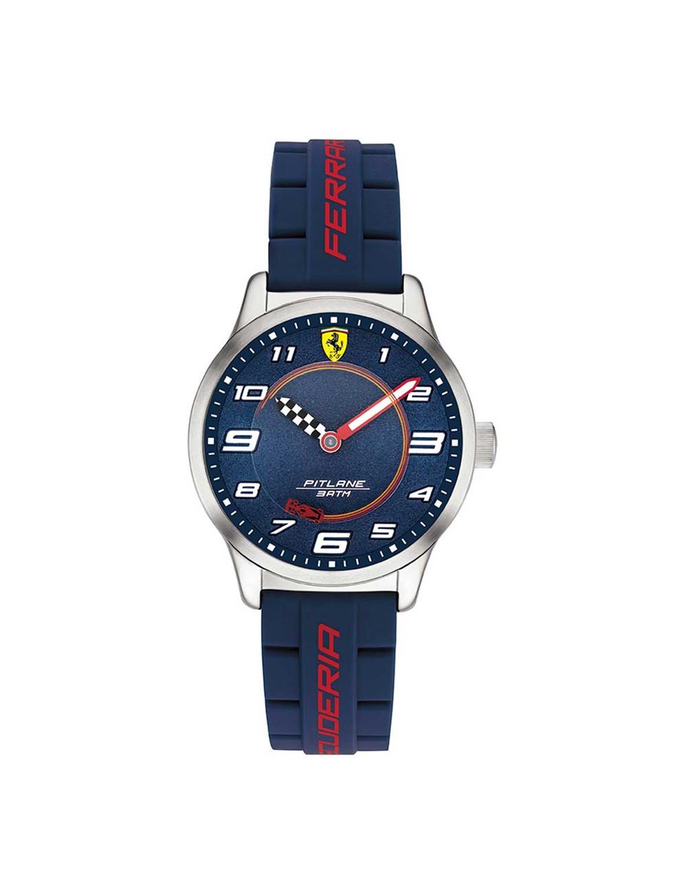 Ferrari Pitlane 0860015 Kids Watch