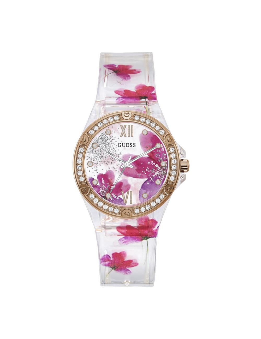 Guess Clear Bloom GW0239L1 Ladies Watch
