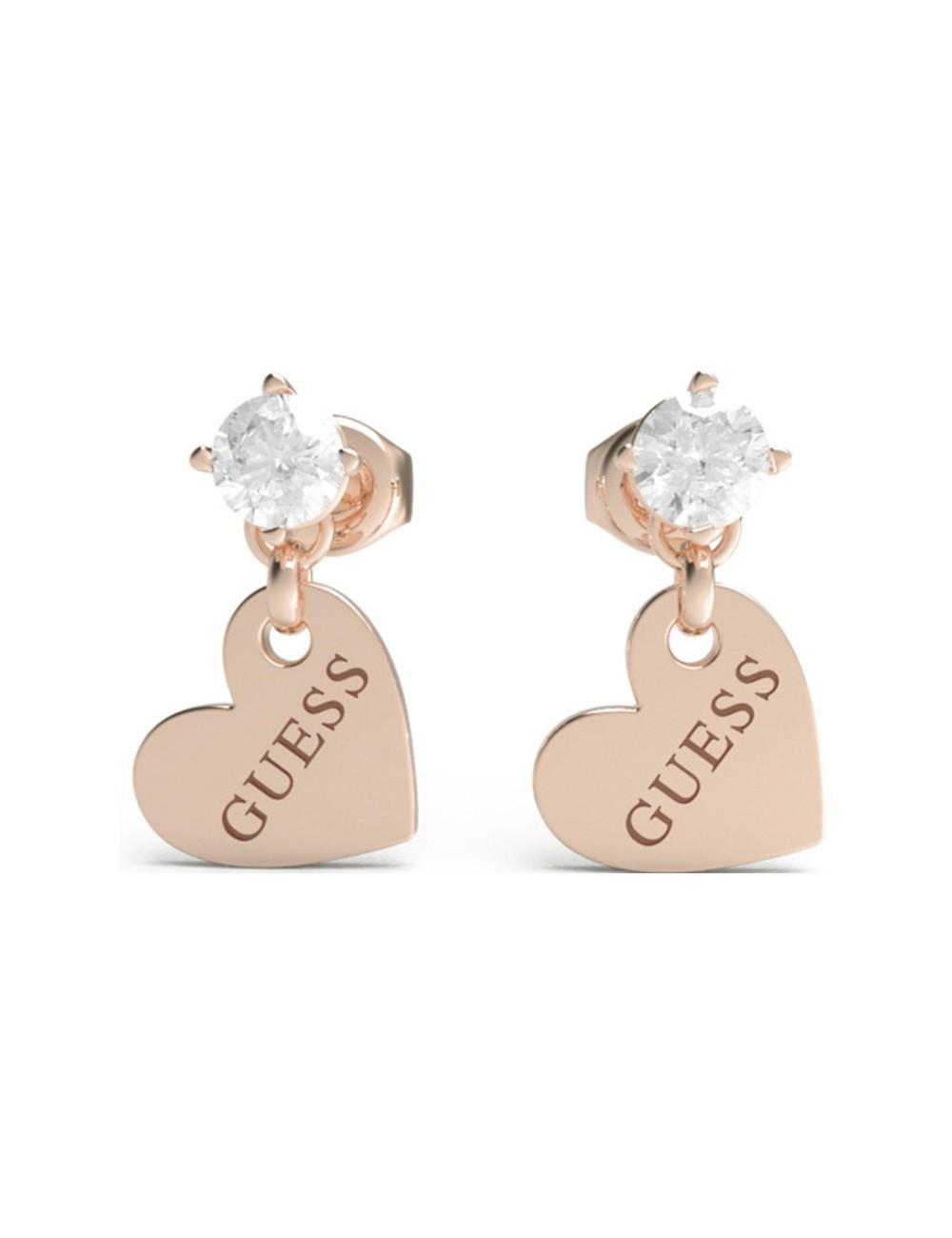 Guess Ladies Earrings JUBE01083JWRGTU