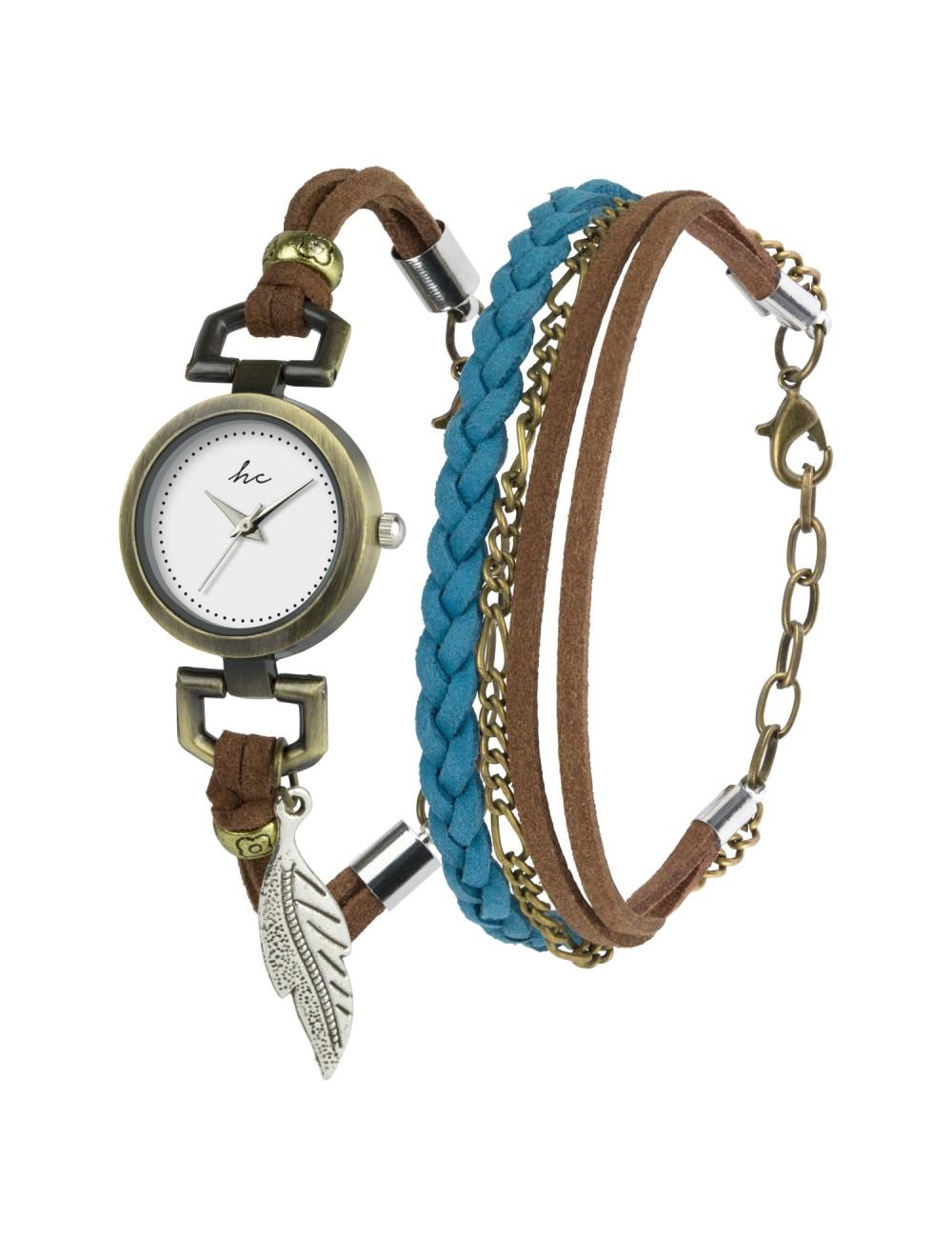 Hippie Chic Gift Set Watch & Bracelet B-TI-HCSAPP