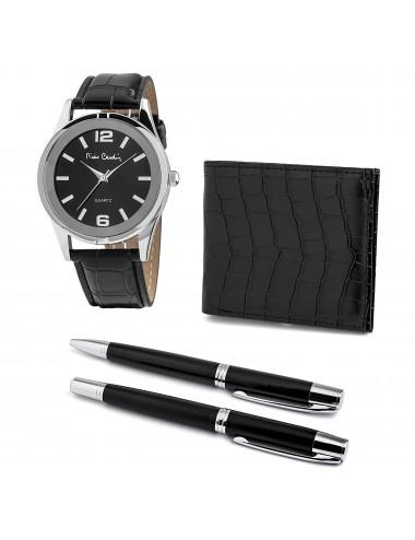 Pierre Cardin Gift Set Watch & Wallet & Pen PCX8222G27