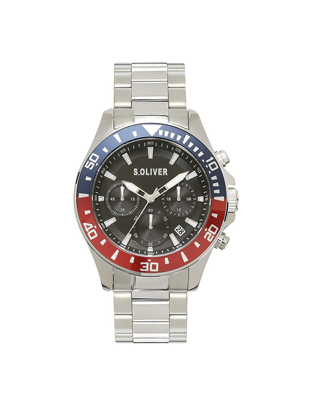 s.Oliver SO-4238-MC Mens Watch Chronograph