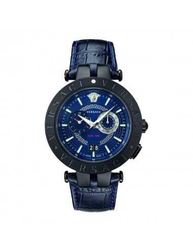 Versace VEBV00419 V-Race Mens Watch Dualtimer