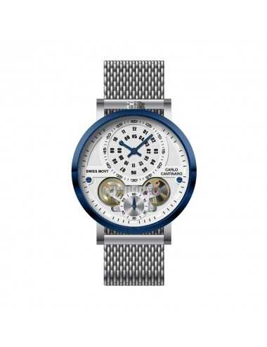 Carlo Cantinaro CC1004GM013 Mens Watch Quartzmatic GMT