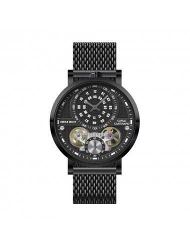 Carlo Cantinaro CC1004GM014 Mens Watch Quartzmatic GMT