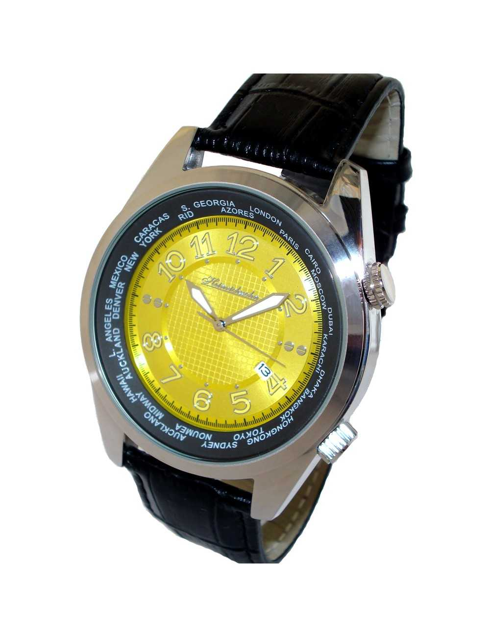 Pánske hodinky HEINRICHSSOHN Danzig Champagne HS1003Y