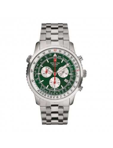Swiss Alpine Military 7078.9134SAM Mens Watch Chronograph