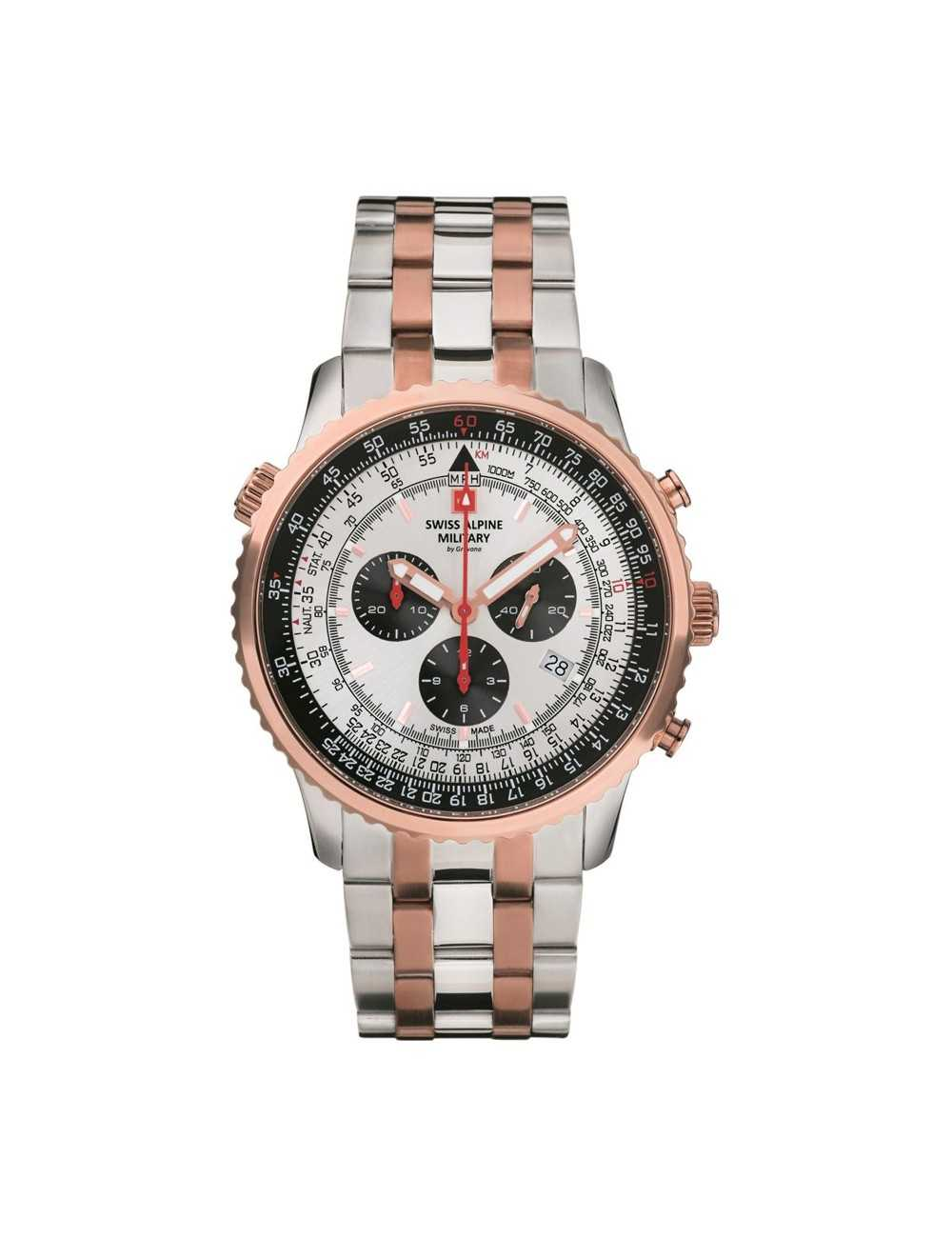 Swiss Alpine Military 7078.9152SAM Mens Watch Chronograph