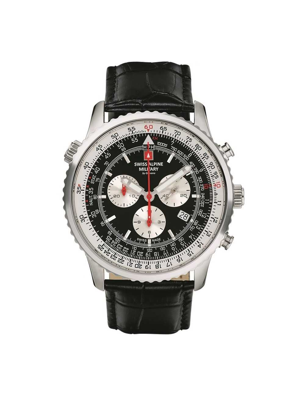 Swiss Alpine Military 7078.9537SAM Mens Watch Chronograph