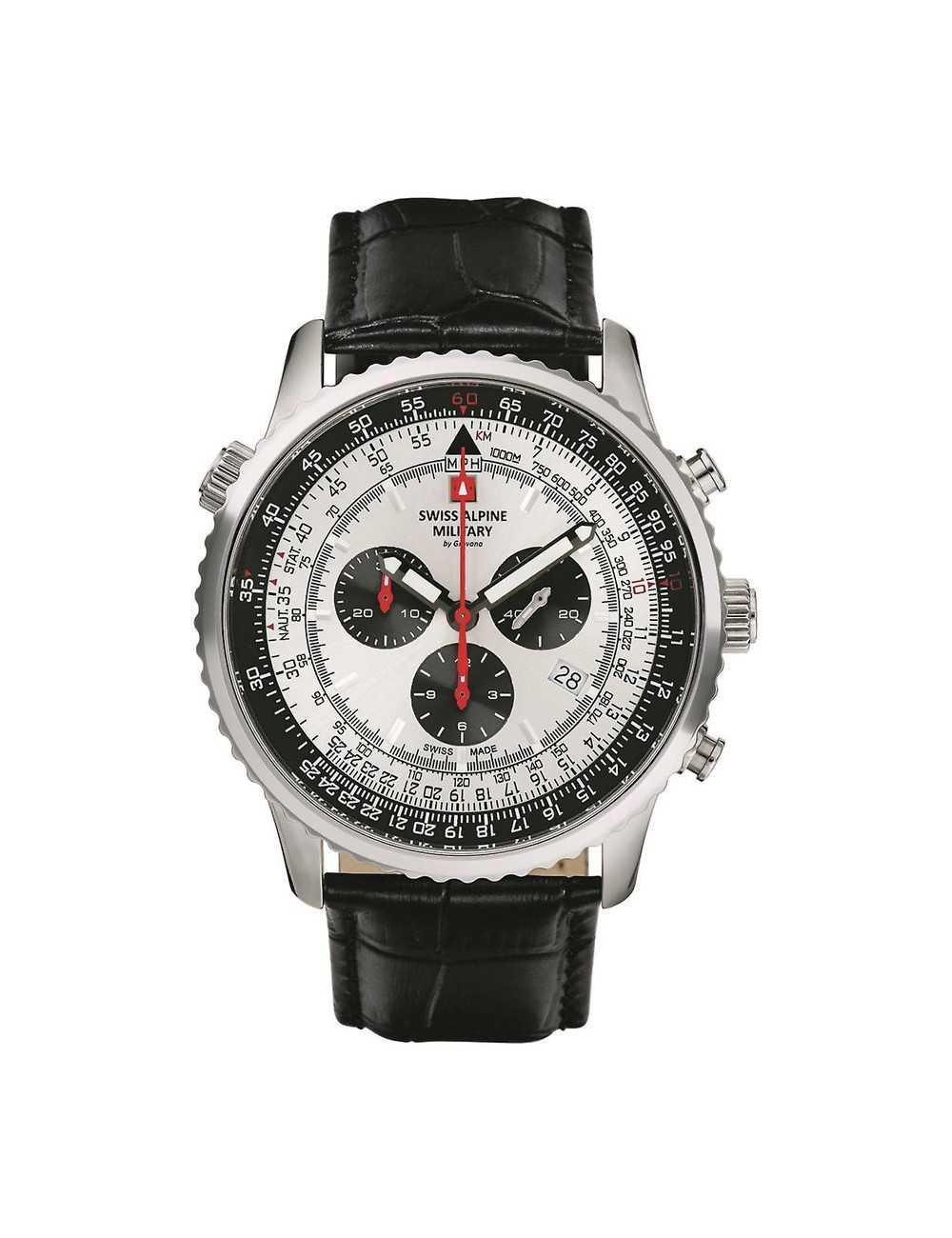 Swiss Alpine Military 7078.9538SAM Mens Watch Chronograph