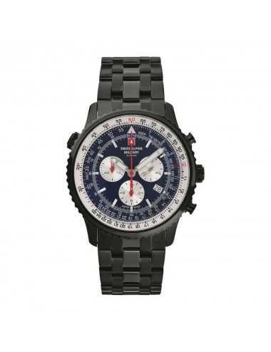 Swiss Alpine Military 7078.9175SAM Mens Watch Chronograph