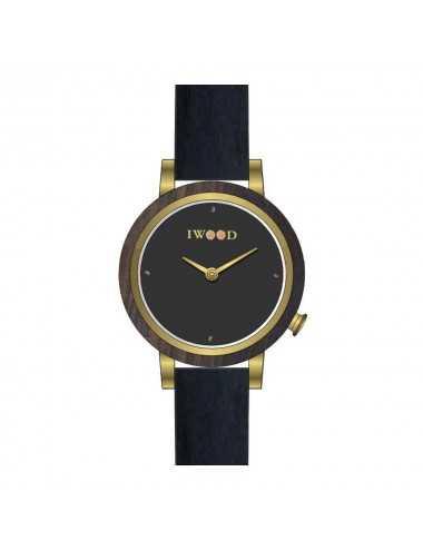 Dámske hodinky Iwood Real Wood IW18443001