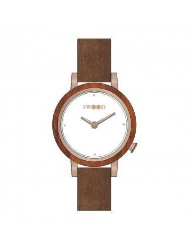 Dámske hodinky Iwood Real Wood IW18443002