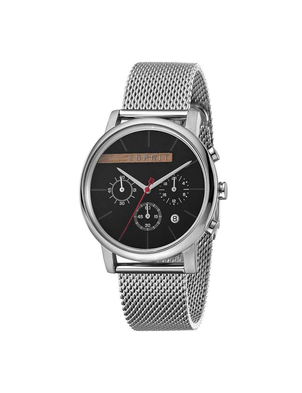 Pánske hodinky chronografu Esprit ES1G040M0045 Vision Black Mesh