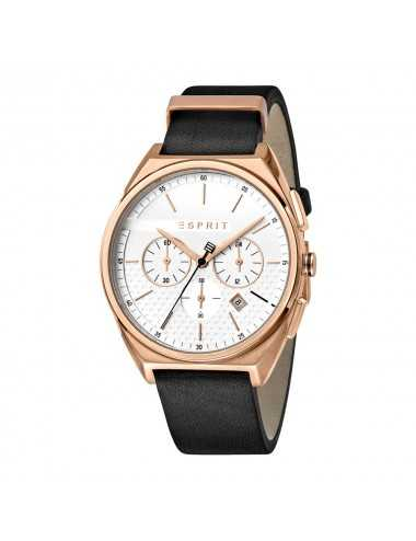 Pánske chronografy Esprit ES1G062L0035 Slice Chrono White Rosegold Black