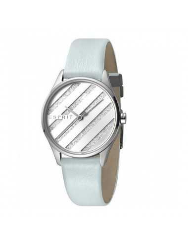 Dámske hodinky Esprit ES1L029L0015 E.ASY strieborné svetlo modré