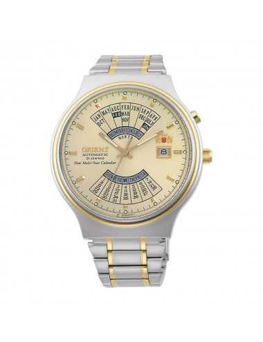 Orientálne viacročné kalendárne automatické pánske hodinky FEU00000CW
