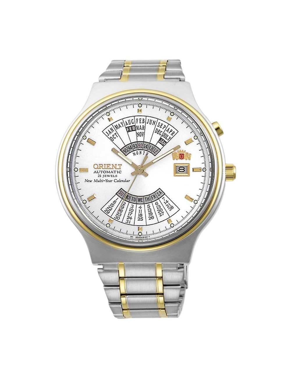 Orientálne viacročné kalendárne automatické pánske hodinky FEU00000WW