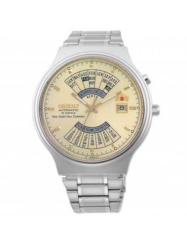 Automatické viacročné kalendáre Orient pánske hodinky FEU00002CW