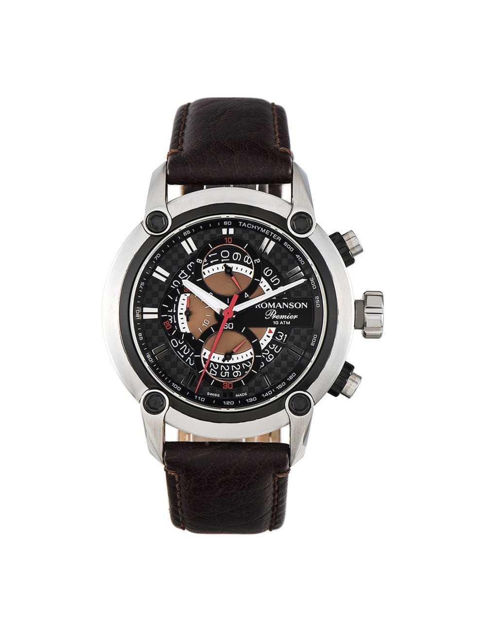 Pánske chronografy Romanson Premier PL2642HM1DA32W