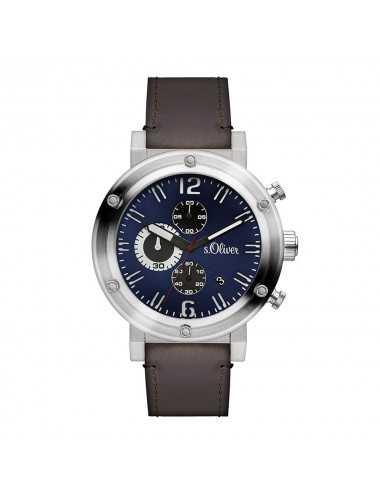 Pánsky hodinkový chronograf s.Oliver SO-15158-LCR