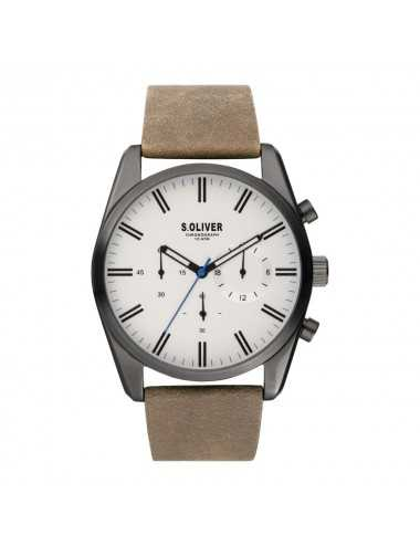 Pánsky hodinkový chronograf s.Oliver SO-3867-LC