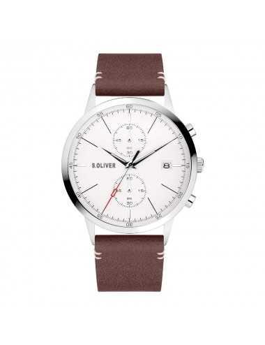 Pánsky hodinkový chronograf s.Oliver SO-4123-LC