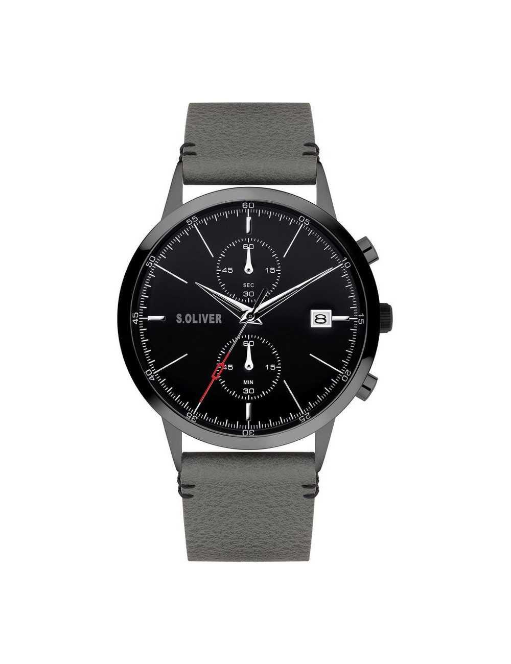 Pánsky hodinkový chronograf s.Oliver SO-4125-LC