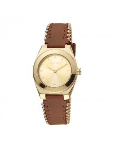 Dámske hodinky Esprit ES1L171L0025 Spot Pearls Gold Brown