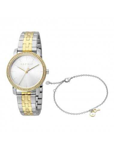 Dámske hodinky Esprit ES1L183M2085 Valentine Silver Gold MB